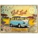 Peltikyltti 30x40 VW Let's get lost