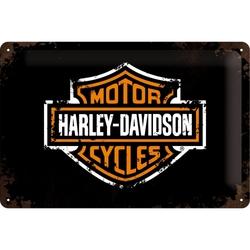 Peltikyltti 20x30 Harley-Davidson logo