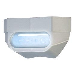 Rekisterivalo LED, kirkas CE hyväksytty, alumiini runko hopea