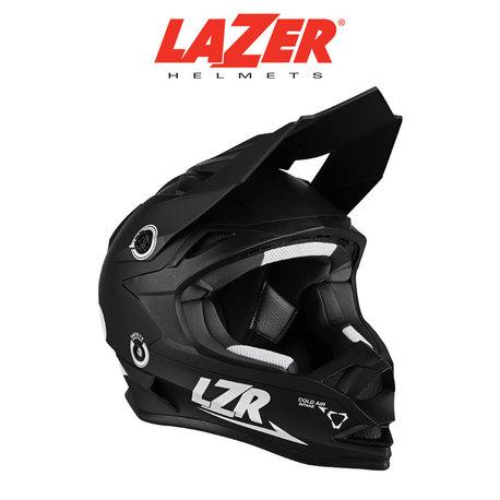 LAZER LZR OR-1 X-Line XL kypärä, mattamusta/valko